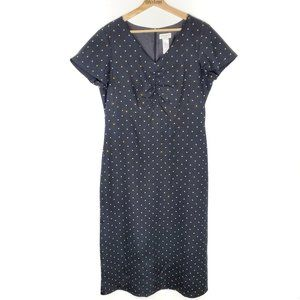 Liz Claiborne LizSport Polka Dot Dress 12